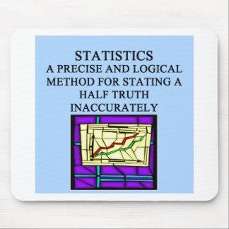 STATISTICS statistician humor Mouse Pad