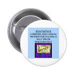 STATISTICS statistician humour Button