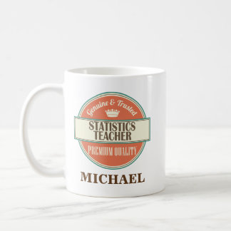 Statistics Teacher Personalized Office Mug Gift