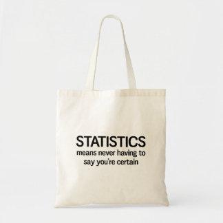 Statistics Tote Bag