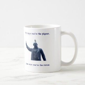 statue basic white mug