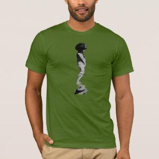 Statue Boy Cherub Reflection T-Shirt