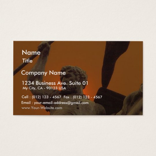 Statue Business Card