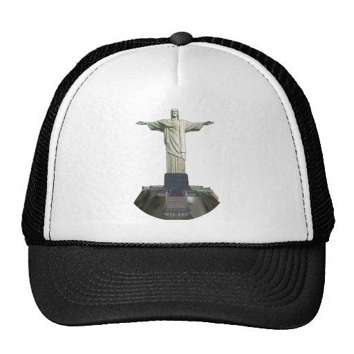 Statue: Christ the Redeemer: 3D Model: Hat
