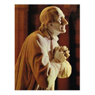 Statue de Cure d'Ars Postcard