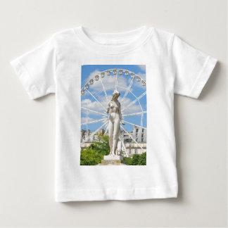 Statue depicting woman in Paris Baby T-Shirt
