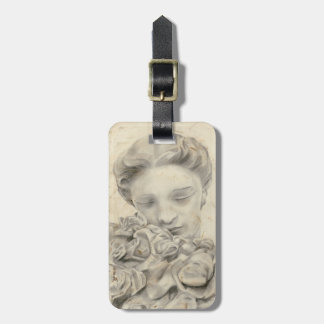 Statue in the Garden I Luggage Tag