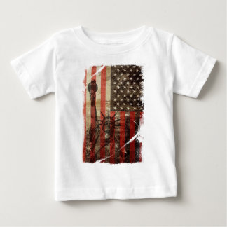 Statue Liberty USA Baby T-Shirt