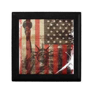 Statue Liberty USA Gift Box