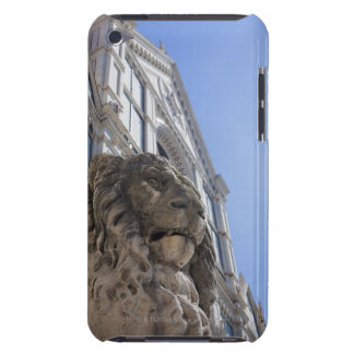 statue of a lion with the facade of Santa Croce iPod Touch Case