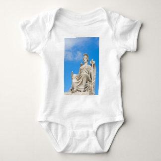 Statue of a queen baby bodysuit