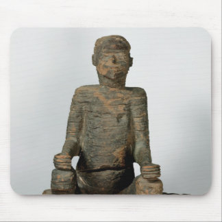 Statue of a seated man, Mbembe, Nigeria Mouse Mat