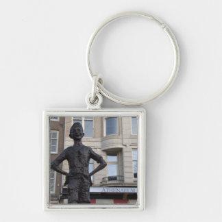 Statue of a Street Child, Amsterdam Keychain