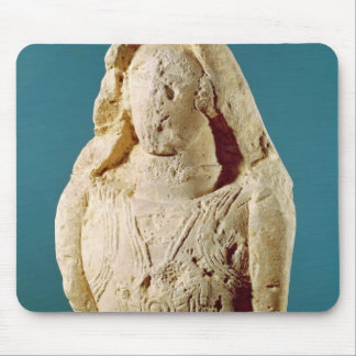 Statue of a warrior mouse mat