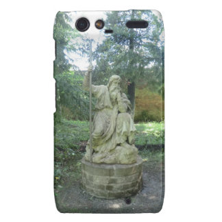 Statue of a Welsh Druid at Erddig Hall Droid RAZR Cover