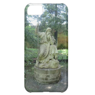 Statue of a Welsh Druid at Erddig Hall Cover For iPhone 5C