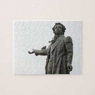 Statue of Alexander Pushkin, Saint Petersburg Puzzles