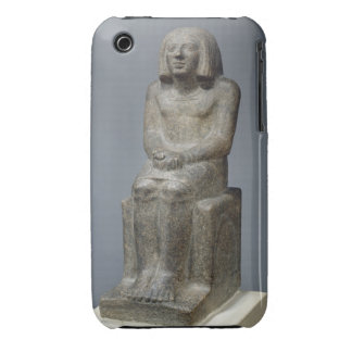 Statue of Ankh, Priest of Horus, Early Dynastic Pe Case-Mate iPhone 3 Case