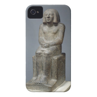 Statue of Ankh, Priest of Horus, Early Dynastic Pe iPhone 4 Case-Mate Case