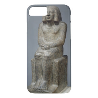 Statue of Ankh, Priest of Horus, Early Dynastic Pe iPhone 8/7 Case