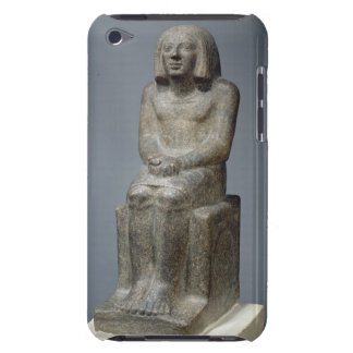 Statue of Ankh, Priest of Horus, Early Dynastic Pe iPod Case-Mate Cases