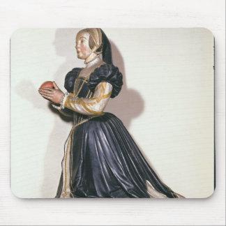 Statue of Antoinette de Fontette Mouse Mat