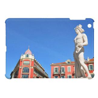 Statue of Apollo (Neptune) overlooking Place Masse iPad Mini Cover