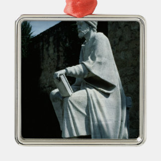 Statue of Averroes Christmas Ornament