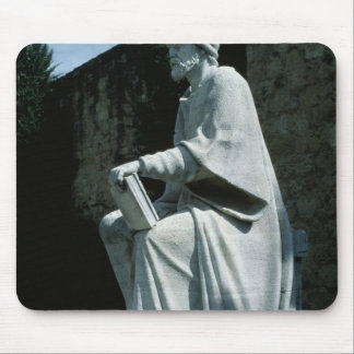 Statue of Averroes Mouse Mat