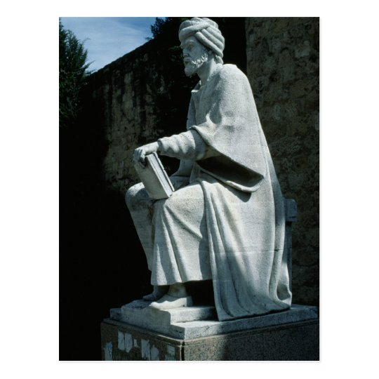 Statue of Averroes Postcard