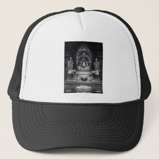 Statue of Buddha from a Chinese Buddhist Temple Trucker Hat