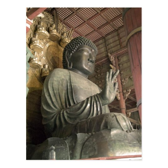 Statue of Buddha Todaiji Nara Japan . This