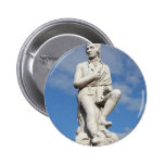 Statue of Burns Pinback Buttons