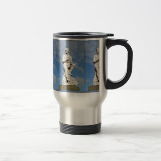 Statue of Burns Stainless Steel Travel Mug