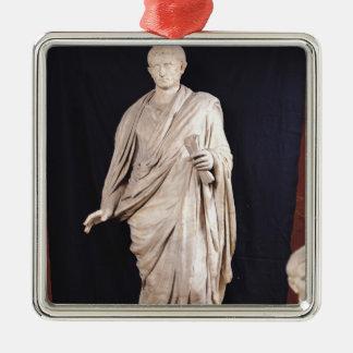 Statue of Caesar Augustus Christmas Ornament