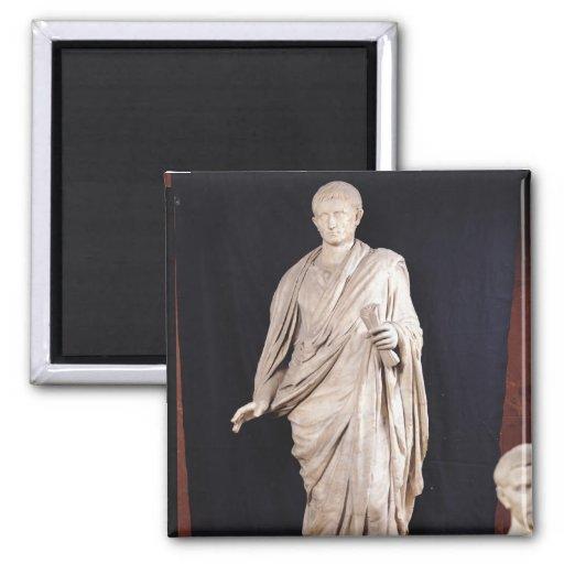 Statue of Caesar Augustus Fridge Magnets