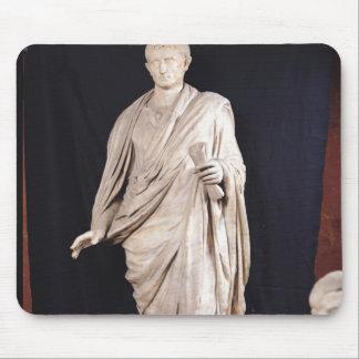 Statue of Caesar Augustus Mouse Mat