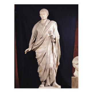 Statue of Caesar Augustus Postcard