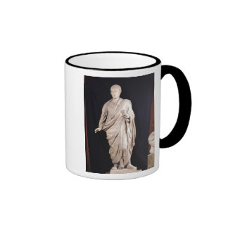 Statue of Caesar Augustus Ringer Mug