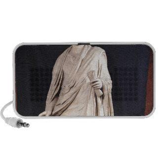 Statue of Caesar Augustus Travel Speakers