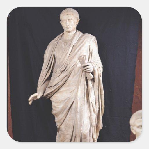 Statue of Caesar Augustus Sticker