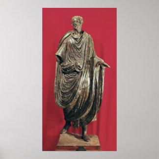 Statue of Caesar Julianus Pacatianus Poster