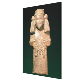 Statue of Coatlicue, ancient earth and mother Canvas Print