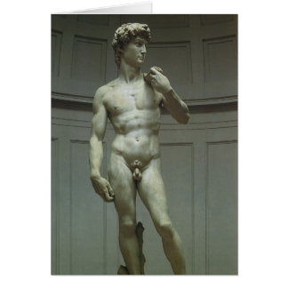 Statue of David by Michelangelo Card