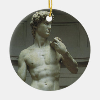 Statue of David by Michelangelo Christmas Ornament