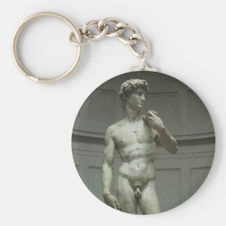 Statue of David by Michelangelo Key Ring