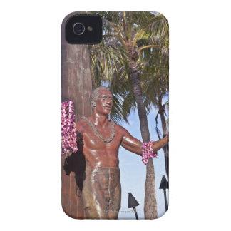 Statue of Duke Paoa Kahinu Mokoe Hulikohola iPhone 4 Case