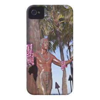 Statue of Duke Paoa Kahinu Mokoe Hulikohola iPhone 4 Cases