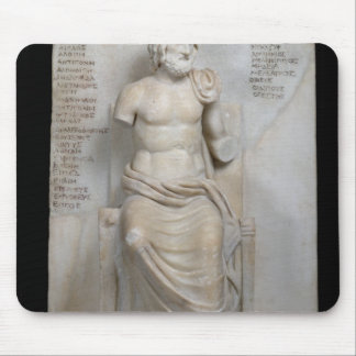 Statue of Euripides Mouse Mat