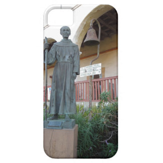 Statue of Father Serra at Santa Barbara Mission iPhone 5 Cases